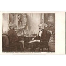 Franz Joseph in talks with his minister