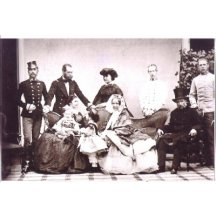 Photo of imperial family - a modern copy