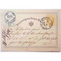 2 kr stationery -stamp-issue