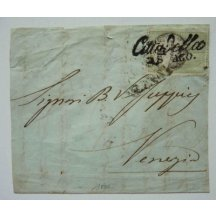 Italy - paid letter stamp ... RR