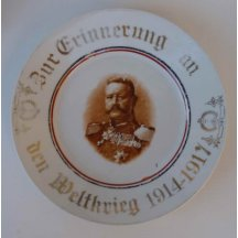Marshal Hindenburg - a reminder to the plate years 1914 - 1917