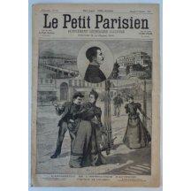 Le Petit Parisien - kompletní noviny / zavraždění císařovny Elisabet