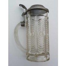 Glass beer / of Elisabeth and Franz Joseph