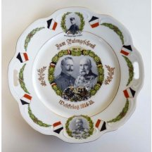 Plate with Emperor FJI.a WI.