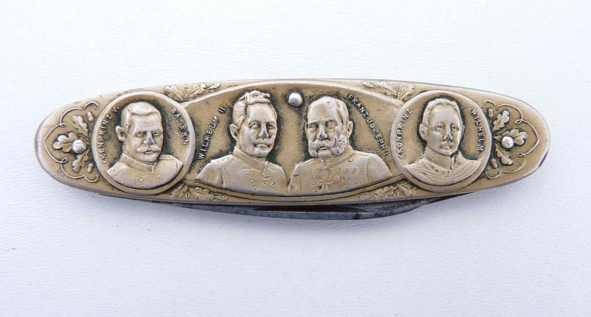 Pocket knife with portraits of Franz Joseph