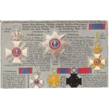 Honours and valuation of Saxony - Cross of Friedrich August