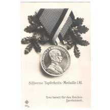 Silver medal for bravery