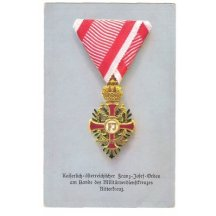 Honour of Franz Joseph - Knight cross
