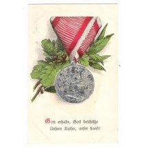 Silver medal of Franz Joseph for bravery