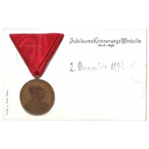 Medal of Franz Joseph , old