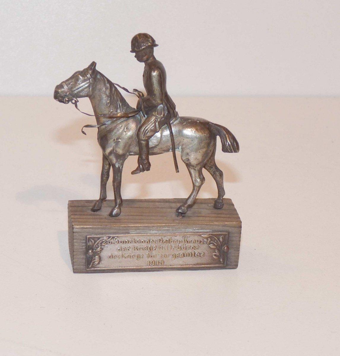 Franz Josef I. na koni