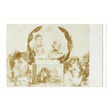 Portréty císaře Franz Josefa od mládí do stáří