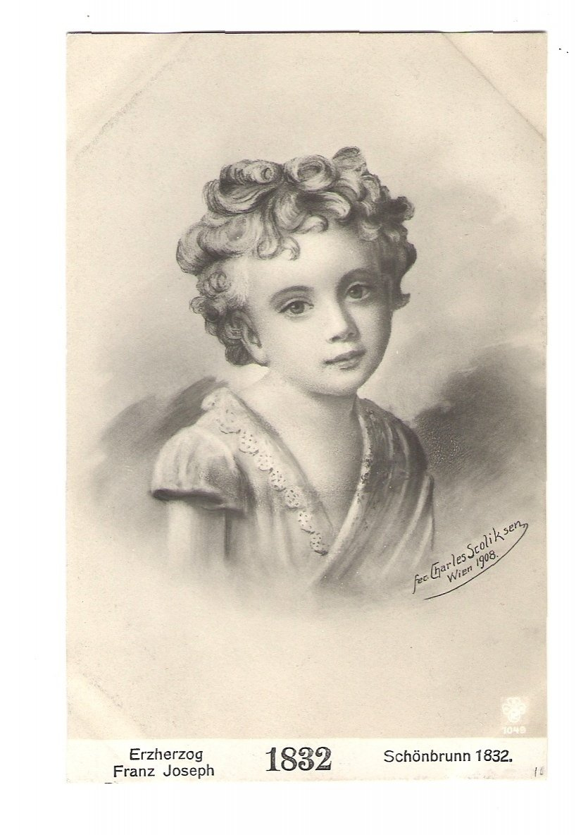 Franz Josef I. - dítě