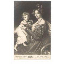 Císařovna Sophie s jejím synem Františkem Josefem