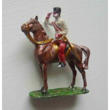 František Josef na koni