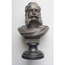 Císař Wilhelm I od : dvorní sochař R.Uffrecht