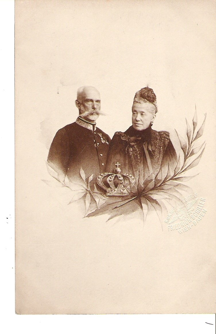 Arcikníže Rainer a arcikněžna Marie Karolína