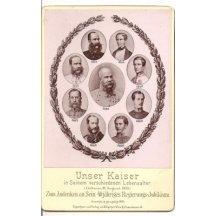Miniaturní portréty - Franz Josepha, mimořádná desková fotografie