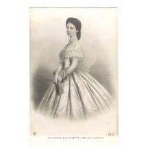 Stojící rakouská císařovna Elisabeth