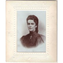 Empress Elisabeth in a decorative frame