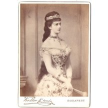 Empress Sissi (Elisabeth) plate photo