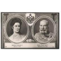 Portréty Franz Josefa a Elisabeth