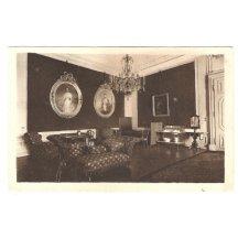 Místnost, kde jsou vystaveny portréty Franz Josefa a Elisabeth