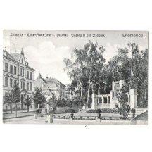 Památník císaře Franz Josefa I. v Litoměřicích