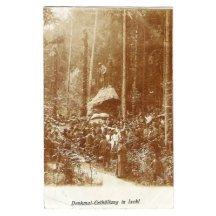 Odhalení pomníku - Franz Josef I., Ischl
