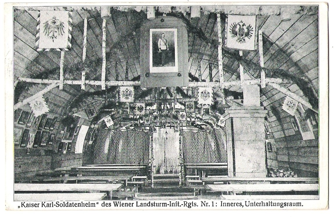 The exhibiton of emperor Karl in Wien