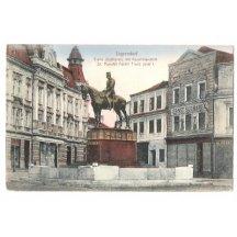 Franz Josef na koni, náměstí Jägerndorf