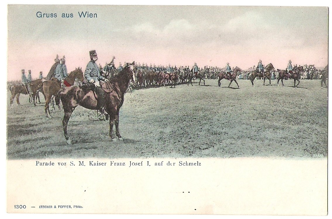 Franz Joseph lead troops