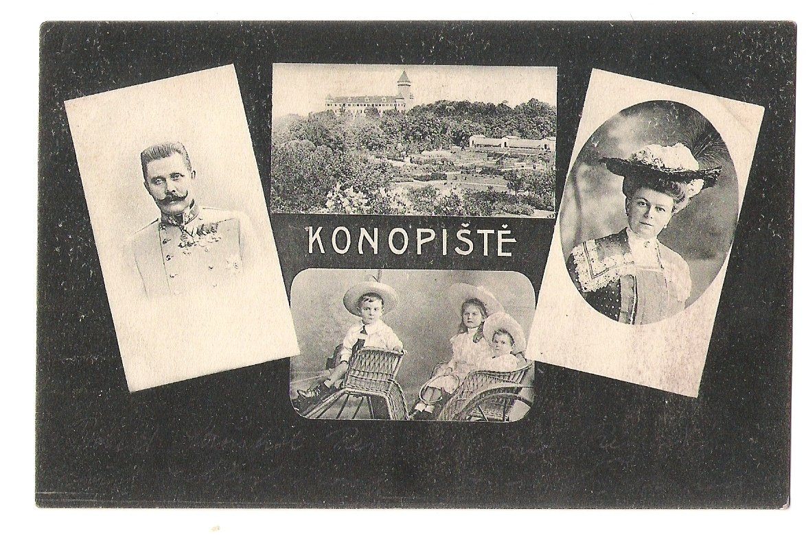 Konopiste castle and family of Franz Ferdinand
