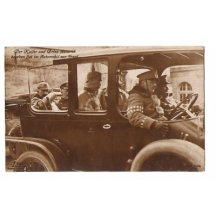 Emperor Wilhelm in car