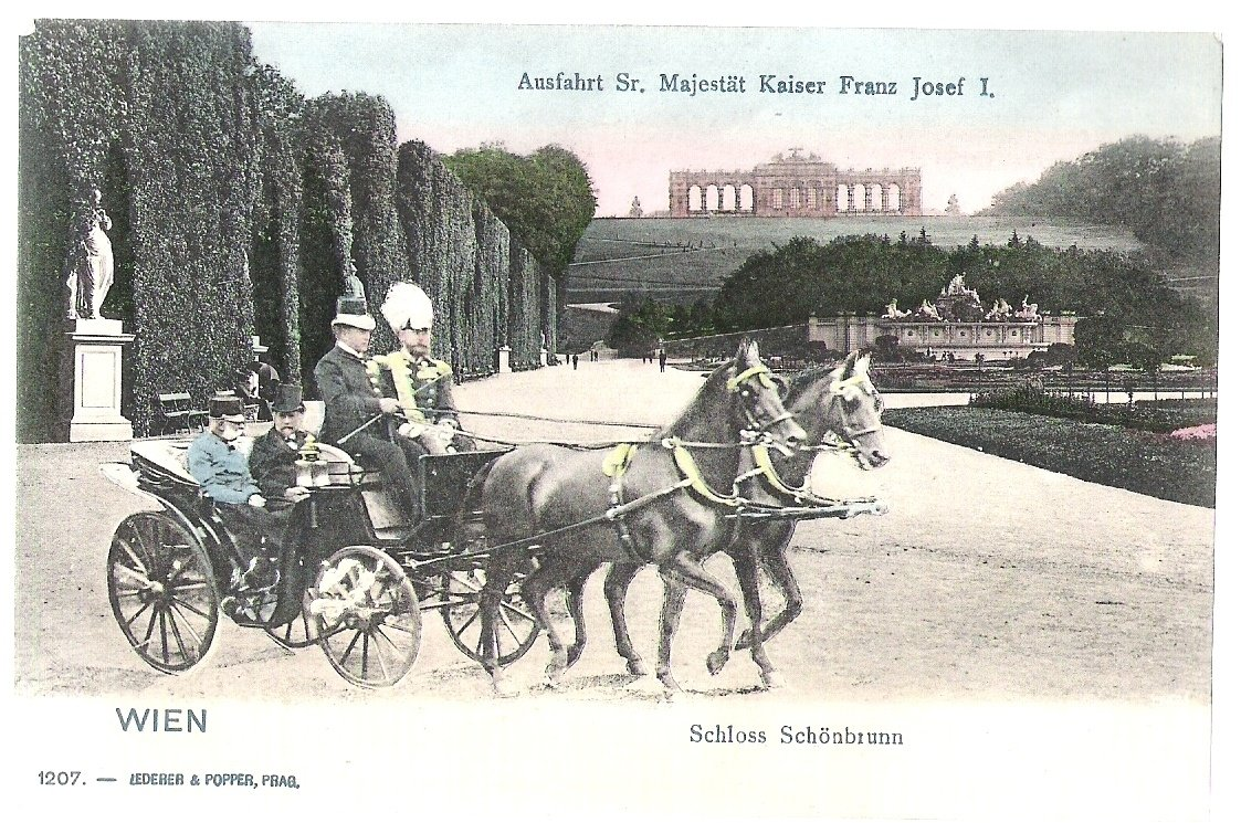 Franz Joseph in schonbrunn park