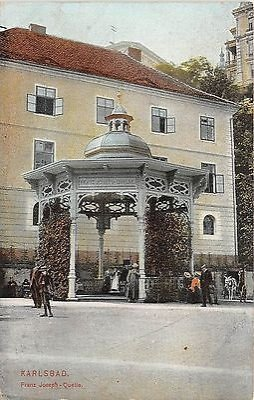 Karlovy Vary pramen císaře Františka Josefa