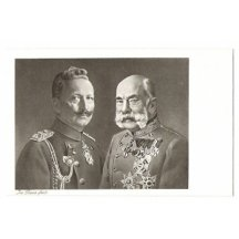 Uniformed emperors : Franz Joseph and Wilhelm