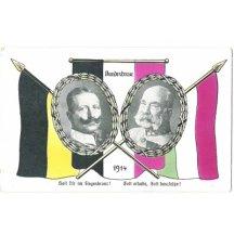 Císař Vilém a František Josef, portréty