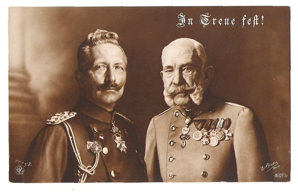 Black and white issue, Franz Joseph and Wilhelm