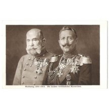 Franz Joseph and Wilhelm - I. World War 1915 - 1915
