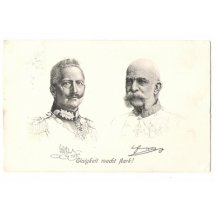 Franz Joseph and Wilhelm : Unity is strength