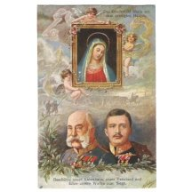 Panna Marie, sledující Carl Franz Josefa a Franz Josefa
