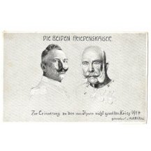 Franz Joseph and Wilhelm were great friends