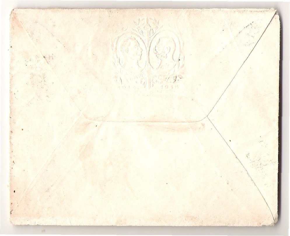 Franz Joseph and Wilhelm , engraved on the envelope
