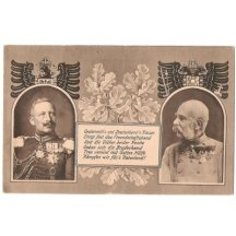 Franz Joseph and Wilhelm