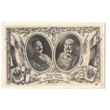 Franz Joseph and Wilhem, coats of arms