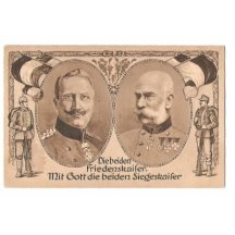 Franz Joseph and Wilhem , soldiers