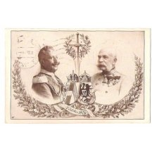 Franz Joseph and Wilhem, holy sword
