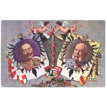 Franz Joseph and Wilhem - colour flag