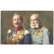 Franz Josef and Wilhelm with medals